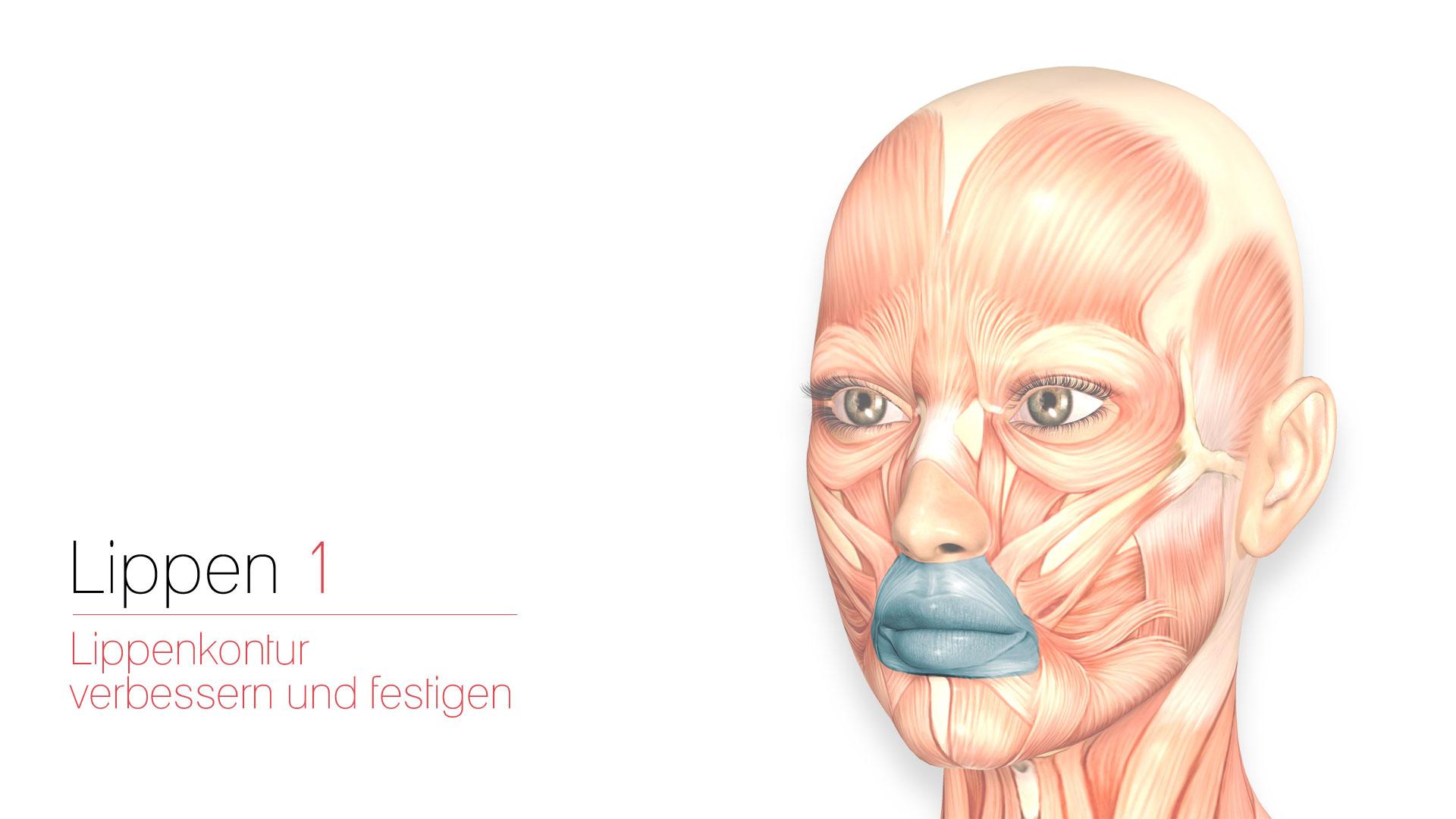 Lips 1- Improve & Strengthen Lip Contours