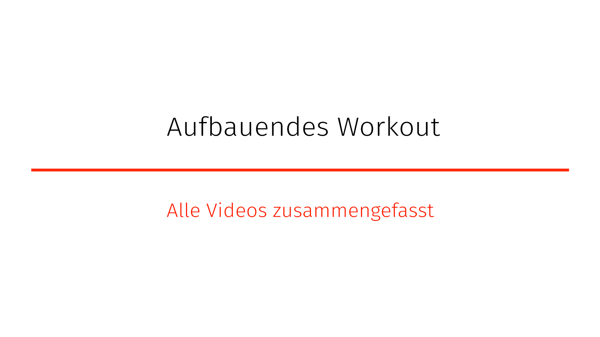 "Aufbauendes-Workout ""Shine it On"""